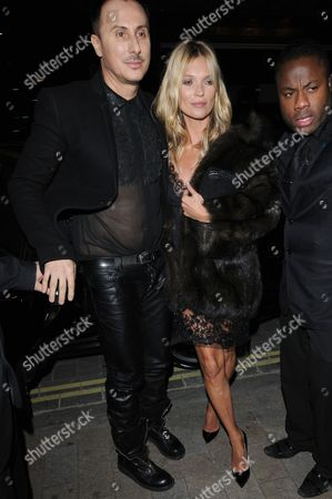 Stock Image of Kate Moss and Luigi Murenu