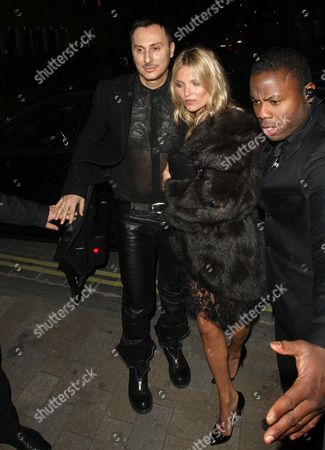 Stock Image of Kate Moss and Luigi Murenu