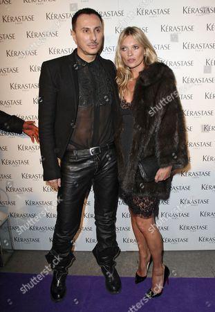 Kate Moss and Luigi Murenu