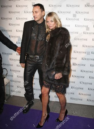 Stock Picture of Kate Moss and Luigi Murenu