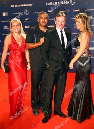 Guest, Daley Thompson, Steve Waugh, Annabelle Bond