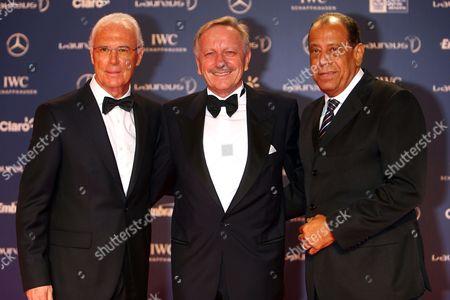 Franz Beckenbauer, Dr Joachim Schmidt, Carlos Alberto