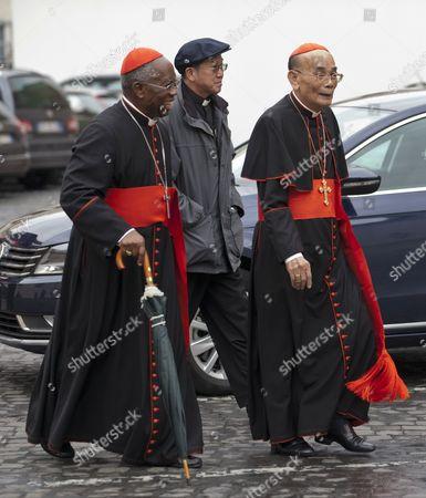 Cardinal Francis Arinze, Cardinal Jean-Baptiste Pham Minh Man