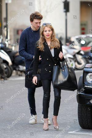 Tom Kilbey and Lydia Bright