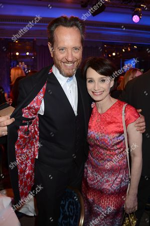 Richard E Grant and Kristin Scott Thomas