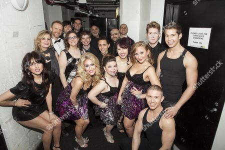 Stock Image of Marty Thomas and the cast of Diva