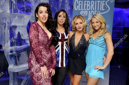 Stock Picture of Ruth Lorenzo, Beth Tweddle, Brianne Delcourt and Jenna Harrison