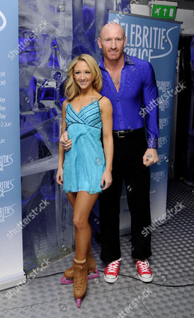 Editorial image of 'Celebrities On Ice' tour launch, Ice Bar, London, Britain - 12 Mar 2013
