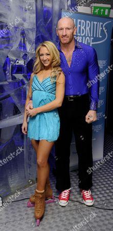 Jenna Harrison and Gareth Thomas