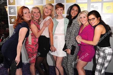 Stock Photo of Bronagh Waugh, Helen Pearson, Gemma Merna and Jazmine Franks