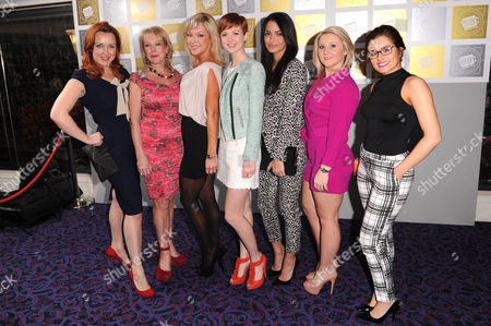 Stock Picture of Bronagh Waugh, Helen Pearson, Gemma Merna and Jazmine Franks