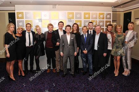 Kerry Katona, Joe Swash, Helen Flanagan, Rob Beckett, Declan Donnelly, Limahl, Tony Blackburn, Dougie Poynter, Ashley Roberts and Laura Whitmore