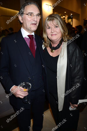 Colin Woodhead and Lindy Woodhead (writer of 'Mr Selfridge')