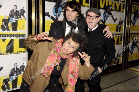 Stock Picture of Sara Sugarman, Joel Sugarman and guest