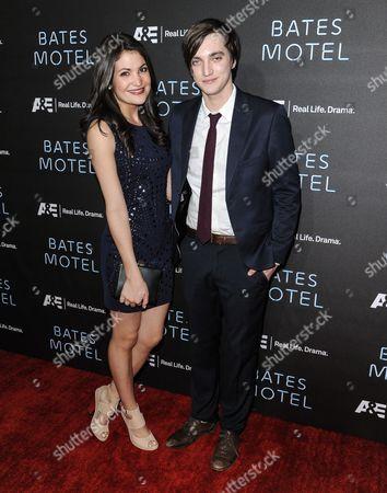 Jenna Romanin and Richard Harmon