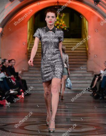 Editorial photo of The Harvey Nichols Bristol SS 2013 Fashion Show, Bristol Museum and Art Gallery, Britain - 13 Mar 2013