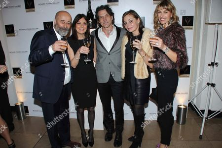 Richard Young, Susan Young, Stephen Webster, Carol Siller and Assia Webster