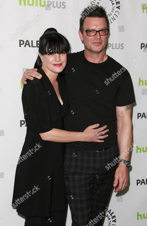 Pauley Perrette and fiance Thomas Arklie