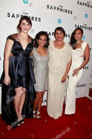 Shari Sebbens, Miranda Tapsell, Deborah Mailman and Jessica Mauboy