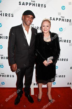 Stock Image of Tony Briggs and Laurel Robinson