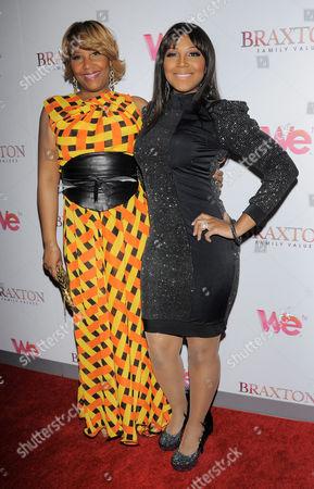 Traci Braxton and Trina Braxton