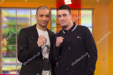 Stock Picture of Curtis Woodhouse and James O'Brian