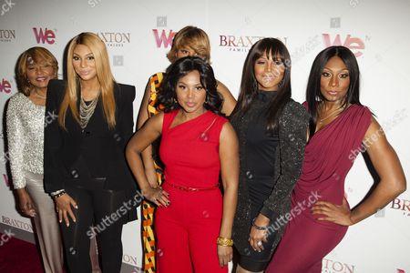 Traci Braxton, Trina Braxton, Towanda Braxton, Tamar Braxton, Toni Braxton, Evelyn Braxton
