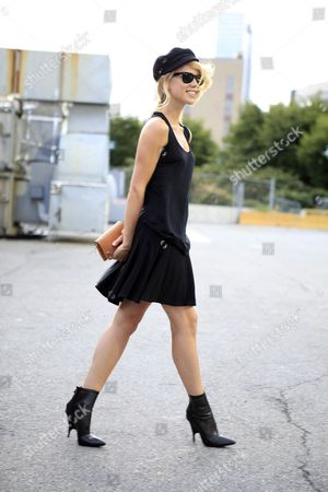 Editorial photo of Street Style, Spring Summer 2013, New York Fashion Week, America - Sep 2012
