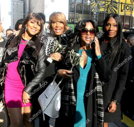 Trina Braxton, Traci Braxton, Toni Braxton and Towanda Braxton