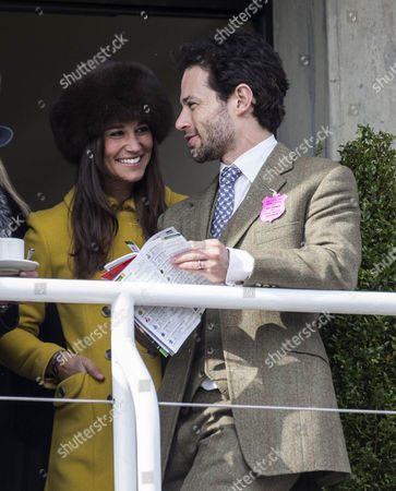 Pippa Middleton with Marcus Waley-Cohen