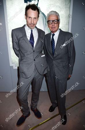 Marlon Richards and Nicky Haslam