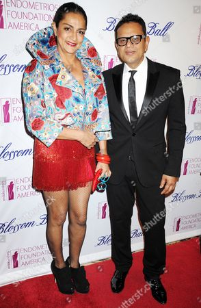 Stock Picture of Naeem Khan and Ranjana Khan