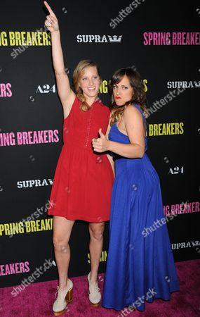 Heather Morris and Ashley Soan Lendzion