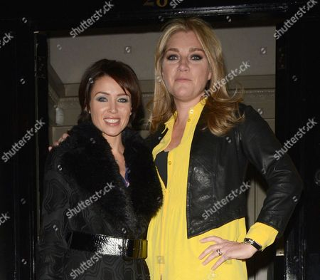 Dannii Minogue and Tabitha Somerset Webb