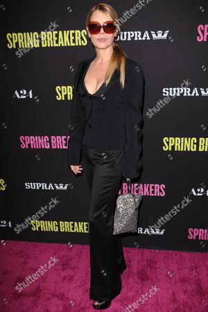 Editorial picture of 'Spring Breakers' film premiere, Los Angeles, America - 14 Mar 2013