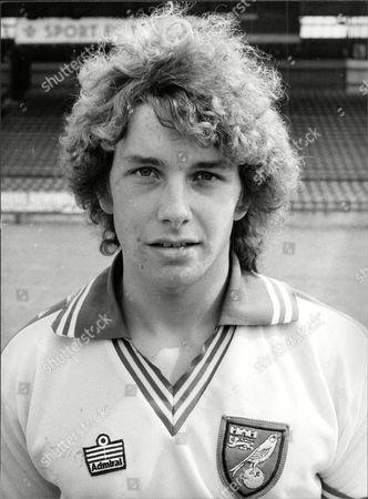 Stock Image of David Pownall Norwich City Footballer.