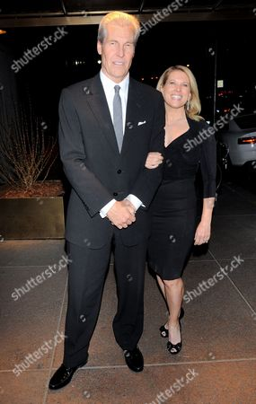 Stock Picture of Terry J. Lundgren and Tina Stephan