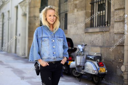 Editorial picture of Street Style, Spring Summer 2013, Paris Fashion Week, France - Sep 2012