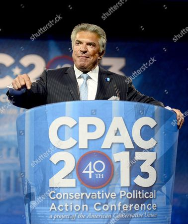 Stock Photo of Al Cardenas, Chairman, American Conservative Union