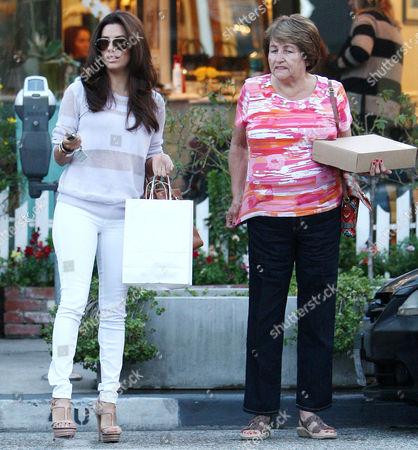Eva Longoria with mother Ella Eva Mireles