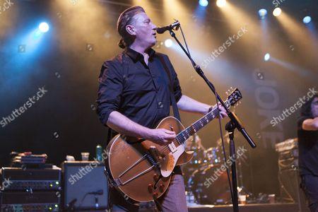 Stock Photo of Kevin 'Geordie' Walker of Killing Joke performs at The Forum, London 6/03/13