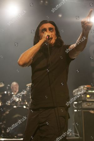Jaz Coleman from Killing Joke performs at The Forum, London 16/03/13