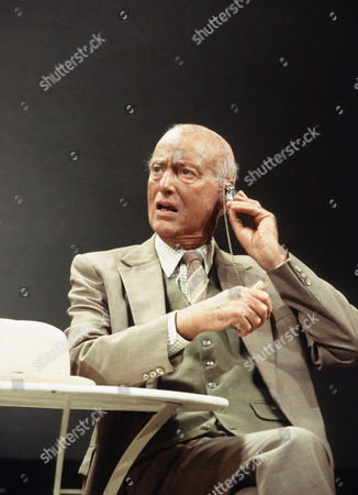 'Home' play at Wyndham's Theatre, London -  Paul Eddington (Harry)