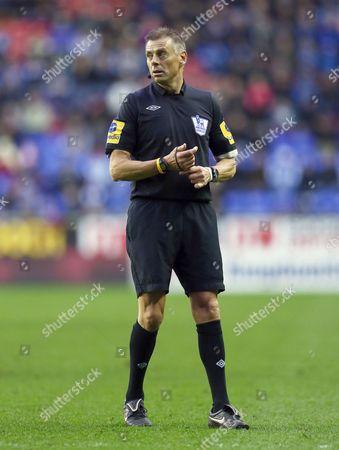 Referee Mr Mark Halsey