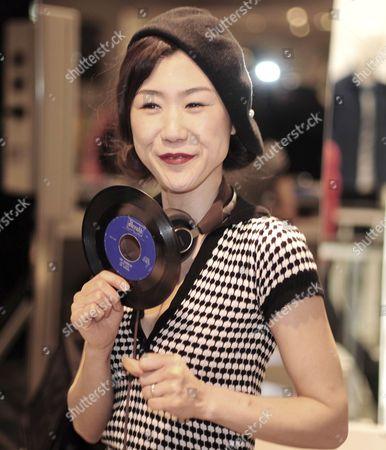 Stock Photo of DJ Lady Kamikaze