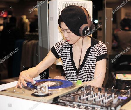 Stock Image of DJ Lady Kamikaze