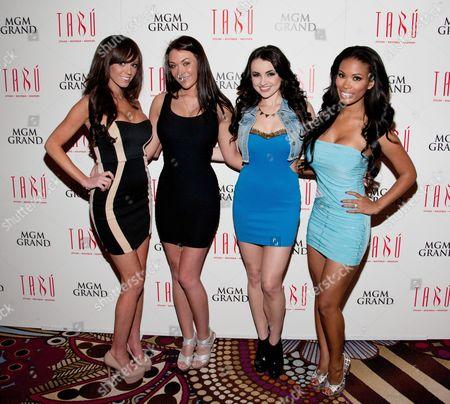 Editorial photo of Playboy Playmates host a St. Patrick's Day party at TABU, Las Vegas, Nevada, America - 16 Mar 2013