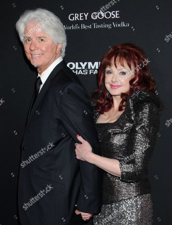 Stock Image of Naomi Judd and husband Larry Strickland