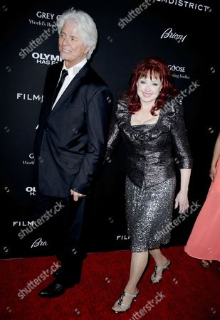 Stock Photo of Naomi Judd and husband Larry Strickland