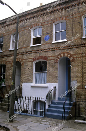 The house where Charlie Chaplin lived in London